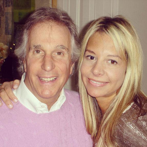 Alison Martino and Henry Winkler