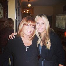 Alison Martino and Penny Marshall