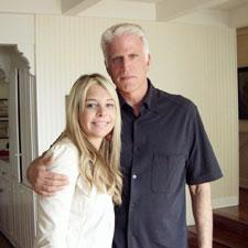 Alison Martino and Ted Danson
