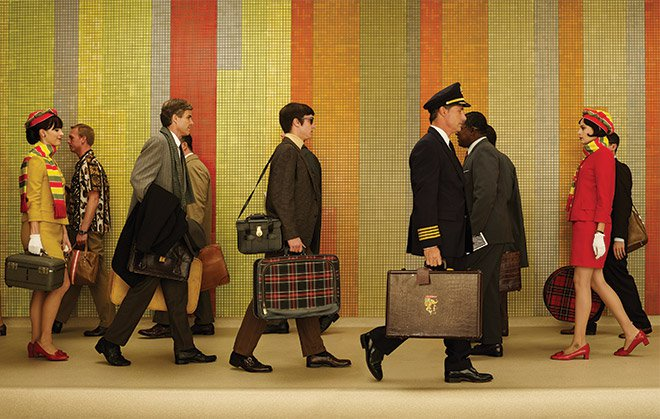 Med Men promo image featuring Charles Kratka's mosaic tiles