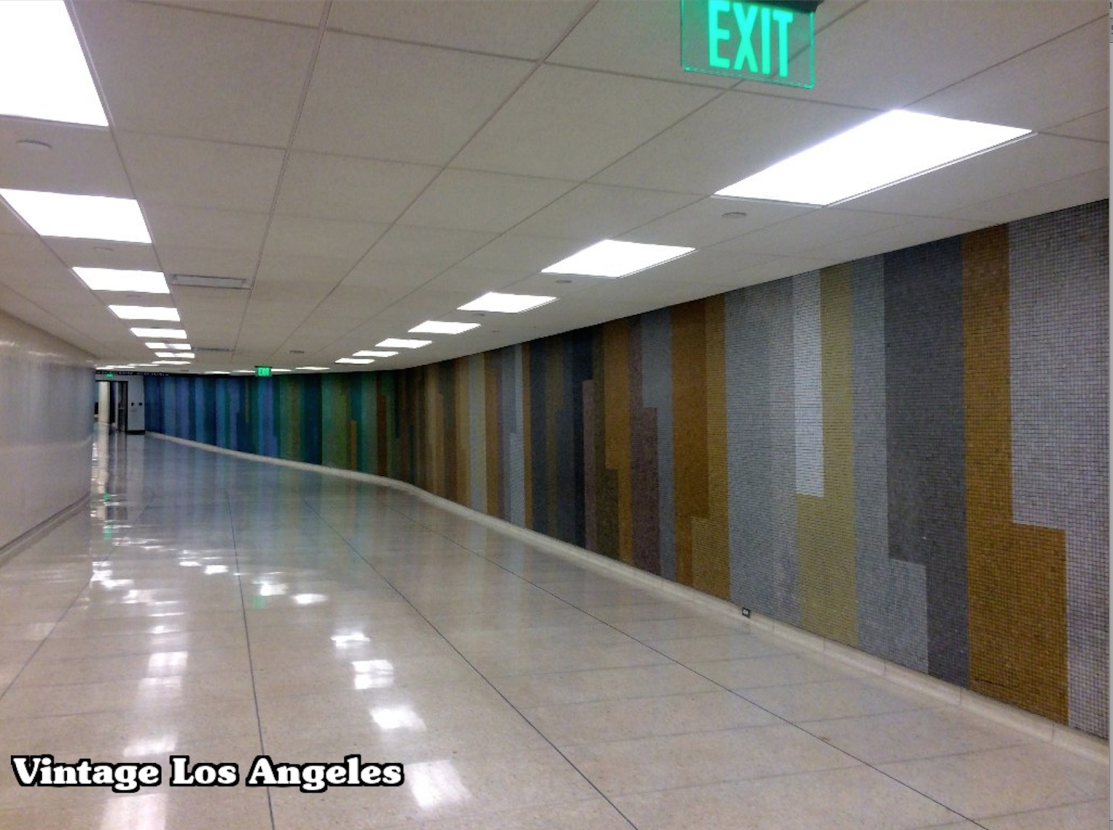 Mosaic Tiles at LAX